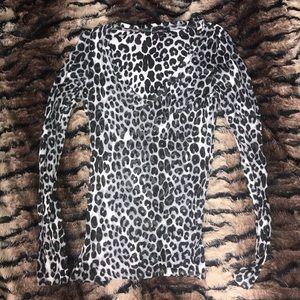 See Thru Cheetah T-shirt